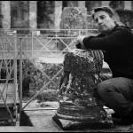 Luigi Esposito all'Anfiteatro Romano di Santa Maria Capua Vetere, 2010 - © foto di Charlotte Sørensen